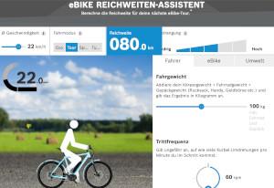 E-Bike Reichweiten-Assistent Leonberg